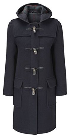 Womens Duffle Coat Toggle Coat.More info could be found at the image url.(This is an Amazon affiliate link and I receive a commission for the sales)