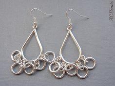 Earrings at #giveaway Brincos em #sorteio Pendientes en #sorteo  BLOG http://acbeads.blogspot.com