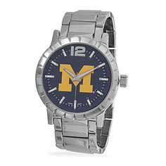 Collegiate-Licensed-University-of-Michigan-Mens-Fashion-Watch