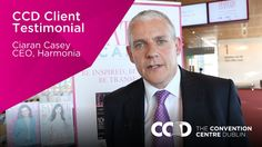 Hear what the CEO of Harmonia, Ireland's largest magazine publisher, has to say about hosting an event at The Convention Centre Dublin.