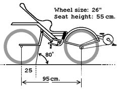 This page is about some trials to make a rear wheel steered bicycle. Trike Bicycle, Recumbent Bicycle, Traction Avant, Wood Bike, Python, Reverse Trike, Balance Bike, Bike Style, Pedal Cars
