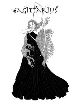 sagittarius | by Vanessa Van Meerhaeghe Sagittarius Wallpaper, Sagittarius Astrology, Sagittarius Women, Zodiac Signs Sagittarius, Zodiac Art, Cusp Signs, Scorpio Art, Saggitarius, Constellations