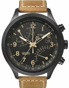 Timex Fly-Back Chrono Black Dial Men's watch #T2N700 Timex. $127.50. Quartz Movement. 100 Meters / 330 Feet / 10 ATM Water Resistant. Mineral Crystal. 42mm Case Diameter