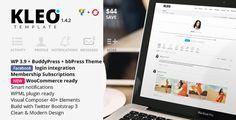 KLEO - Stylish Business Multi Purpose Shop WordPress Theme