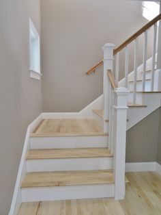 #Hardwood staircase