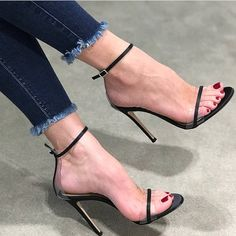 high heels – High Heels Daily Heels, stilettos and women's Shoes Sexy Legs And Heels, Platform High Heels, Black High Heels, High Heel Boots, Ankle Strap Heels, Strappy Heels, Stiletto Heels, Heeled Sandals, Shoes Sandals