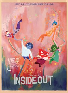 Inside Out - movie poster - Fernando Reza