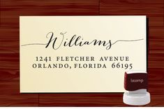 Custom Personalized  SELF INKING Return von lovetocreatestamps, $31.95