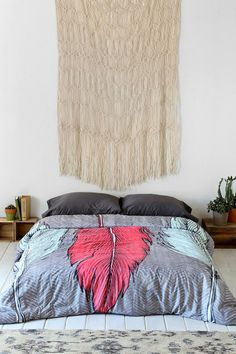 Wesley Bird For DENY Featherhead Duvet Cover #urbanoutfitters