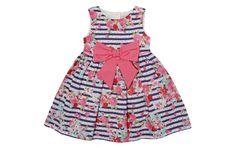 b1a98b6b67e Stripe And Floral Printed Dress - Children - Tu Clothing At Sainsbury s