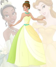A new series in which I mix 2 disney princesses into 1 This is a mix of Belle and Tiana, her name is Beth Hope you like her Other combinations: Anna + Ariel : willemijn1991.dev...