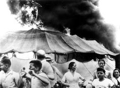 Heretic, Rebel, a Thing to Flout: Ringling Bros. Horror—The Hartford Big Top Fire. When the Ringling Brothers and Barnum & Bailey Circus band suddenly struck up The Stars and Stripes Forever in the middle of a matinee performance by the Flying Wallendas on July 6, 1944 in Hartford, Connecticut circus folk knew that something was wrong.  The song was a traditional signal of trouble.  And there was big trouble.