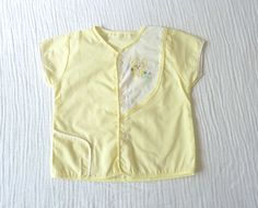Vintage baby shirt 12 months to 18 months Pale by LazerBabyVintage, $10.00