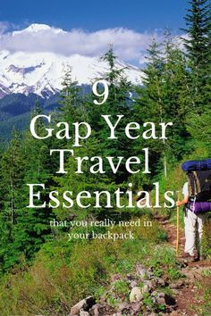 From hiking boots and waterproofs, to high heels and caftans, your packing list will vary depending on travel style and chosen itinerary. However you should always make room in you backpack for a few travel essentials designed to help you make the most of your adventures.  Here's our pick of 9 things that you can't live without on your gap year.  Read more at: https://wanderlusters.com/things-that-you-cant-live-without-on-your-gap-year/ #travel #gapyear #wanderlust