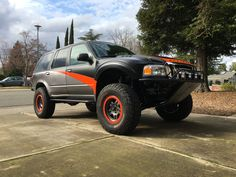 Ford Explorer 4x4 Prerunner Tube Chassis, Trophy Truck, Roll Cage, Aleta, Ford Expedition, Ford Explorer, Ford Trucks, Offroad, Good Times