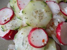 Japanese Style Cucumber and Radish Salad. Photo by *Parsley*