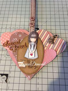 Hand crafted Gorjuss MDF Heart