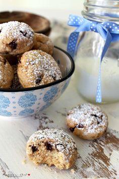 Italian Butter Cookies, Italian Cookie Recipes, Italian Desserts, Mini Desserts, Vegan Desserts, Biscotti Cookies, Biscotti Recipe, Cookies Light, Biscuits