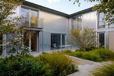 The Yard House — Tom Massey Concrete Paving, Polycarbonate Panels, Courtyard House, Grand Designs, Garden Features, Landscape Photographers, Portfolio Design, Garden Landscaping, Garden Design