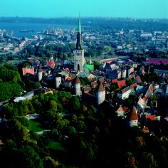 Old Town, Tallinn, Estonia