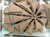 Cardboard Relief Sculpture, I used to do these with my students, great results.