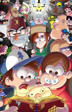 Gravity Falls group by SemajZ on DeviantArt