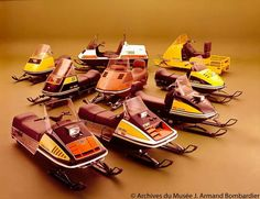 1974 La gamme Skidoo
