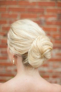 Beautiful bridal bun!