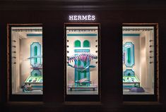 zim & zou craft museum of supernatural history for hermes storefront