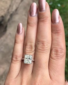 Janel Parrish Engagement Ring   POPSUGAR Fashion