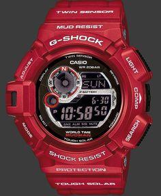 G-Shock Limited Edition Red Mudman G9300RD-4: Star Jewels - Star Jewels