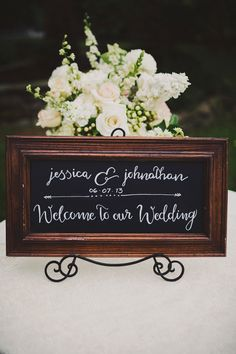 #signs, #welcome  Photography: Ariel Renae - www.arielrenaephoto.com  Read More: http://www.stylemepretty.com/2013/11/04/nashville-wedding-from-ariel-renae/