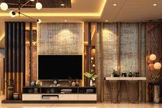 Tv Unit Interior Design, Interior Design Companies, Apartment Interior Design, Home Interior, Luxury Bedroom Design, Bedroom Bed Design, Home Room Design, Luxury Interior Design, Living Room Wall Designs