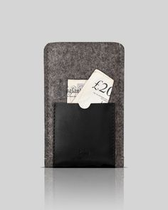 wool & leather case for Samsung 3III - OSTFØLD