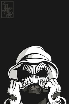 Illustration cali Gangsta Vector west coast HiiiPower schoolboy q ...