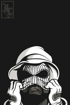 Illustration cali Gangsta Vector west coast HiiiPower schoolboy q ...