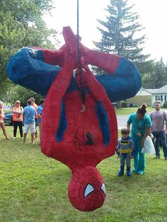 Spiderman Paper Mache Pinata - Google Search