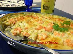 Bacalhau Gratinado com Camarão na Yammi | As Receitas da Selene