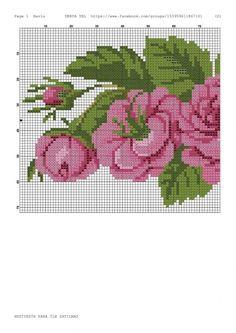 Name: Views: 2001 Size: KB (Kilobytes) Source by Cross Stitch Patterns, Crochet Patterns, Rose Bouquet, Cross Stitching, Blackwork, Embroidery Stitches, Needlepoint, Diy And Crafts, Kids Rugs
