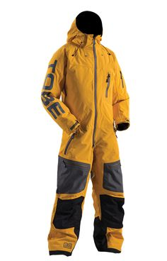 TOBE Outerwear Privus Mono Suit, Citrus - Snowmobile, ski and snowboard one-piece suit. 100% windproof, 100% waterproof, breathable Sympatex Membrane. #chooseyourpath