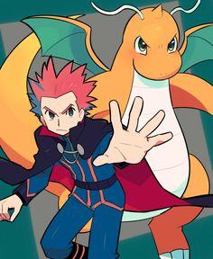 Lance Pokemon, Pokemon Tv, Pokemon Manga, Pokemon Pocket, Pokemon Ships, Pokemon Heart Gold, Gold Pokemon, Dragon Manga, Pokemon Stories