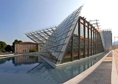 The MuSe Museum by Italian architect Renzo Piano has opened to the public in Trento, Italy, and features angled profiles that echo the shapes of the nearby Dolomites mountains.