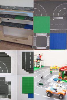 """Cu Orășelul LEGO City pe polițele sale, Transformo își păstrează magia: îl poți strânge la perete când ai nevoie de spațiu în cameră sau pentru a face curat, fără să strici creația celui mic. Acesta """"arhivează"""" tot ce a creat prichindelul pentru ca a doua zi să i le ofere înapoi, exact cum le-a lăsat Lego City, Blog, Magick, Blogging"""