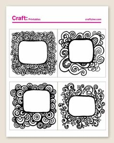 craft doodle project
