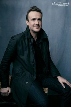 The End of the Tour's Jason Segel photographed at The Hollywood Reporter photobooth at the 2015 #Sundance Film Festival in Park City, Utah on Jan. 23, 2015.
