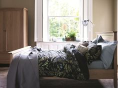 Buy the Eve Print Bedding Set from Marks and Spencer's range. Bedroom Themes, Bedroom Decor, Bedroom Ideas, Bedrooms, Bed Springs, Home Board, Wonderful Things, Nice Things, My Room