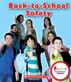Back-To-School Safety (Rookie Read-About Safety): Learn how to balance the excitement of a new school year with staying safe in the hallways, classrooms and schoolyard. New School Year, School Days, Back To School, First Day Of School Pictures, Family Safety, School Safety, National School, Early Readers, Schools First