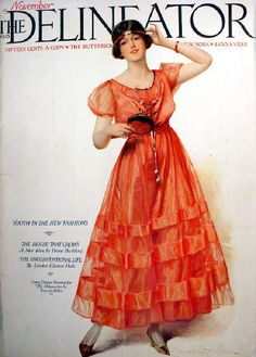 'The Delineator' (1873-1937) was like the 'Frankie' magazine of its day. It began as a pattern catalogue for Butterick but also published short fiction, self-help articles, craft projects and interviews.