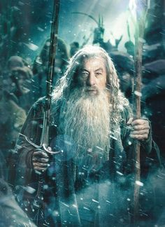 Gandalf from The Battle of the Five Armies: Movie Guide Visual Companion