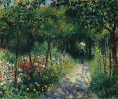 Women in the Garden - Pierre-Auguste Renoir 1873